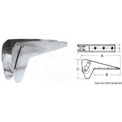 Davier inox spécifique p. Bruce/Trefoil max 10 kg