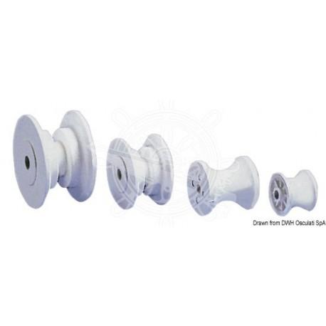 Réa de rechange nylon 52 mm