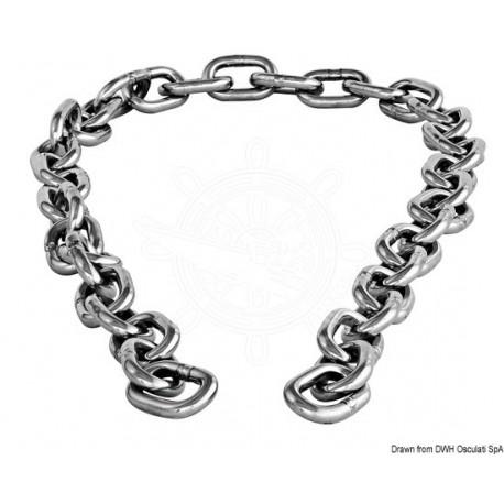 Paire de tronçon chaîne AISI 316 10 mm