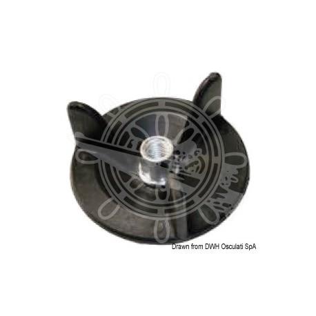 Support pour roue de secours Ø 87 mm