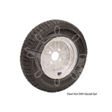 """Roues pneum. p. chariots grand vitesse 4/8"""""""