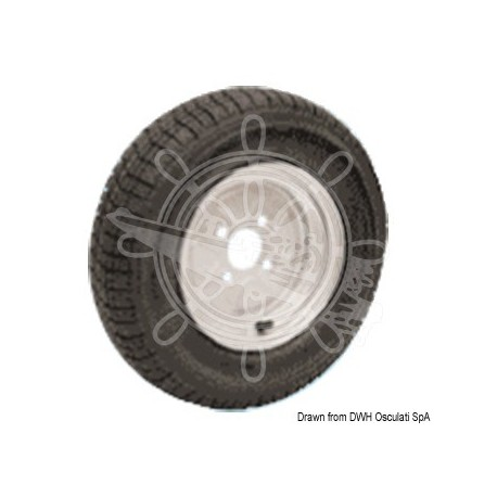 """Roues pneum. p. chariots grand vitesse 4/10"""""""