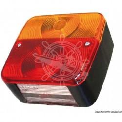 Feu arrière G 4 fonctions 2 ampoules