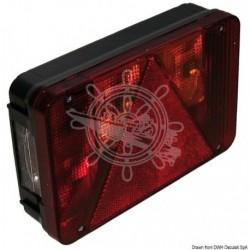 Feu arrière D 4 fonctions 4 ampoules