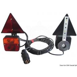 KIt feu arrière fixation magnétique + triangles