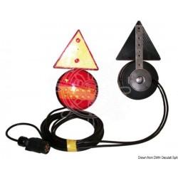 KIt feu à LED fixation magnétique + triangles