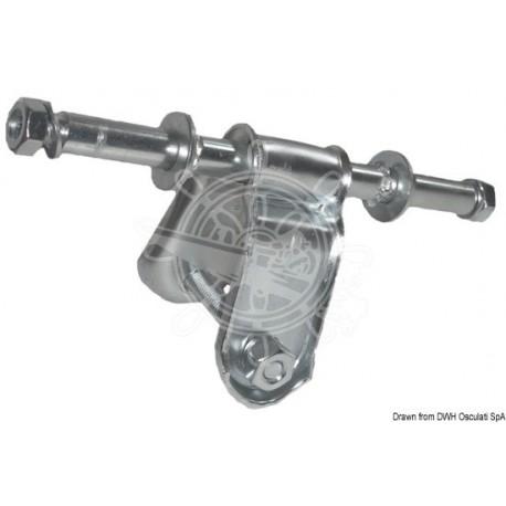 Etrier roue latérale droit 40 mm