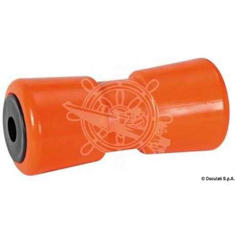 Roue centrale orange 185 mm Ø trou 21 mm
