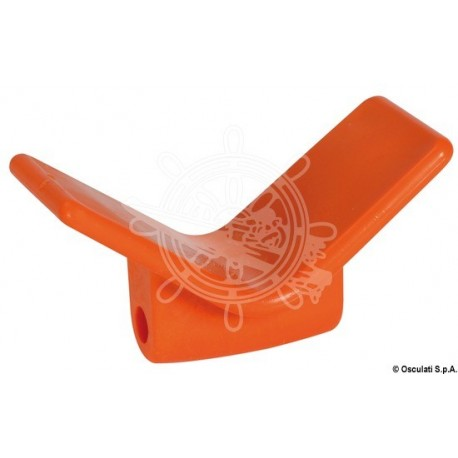 Butée de proue orange polyuréthane 105 x67x124mm