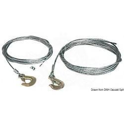 Câble pour treuil 6 mm x 7,5 m
