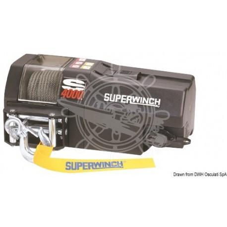 Treuil électrique Superwinch 1850kg - 1300W - 12 V