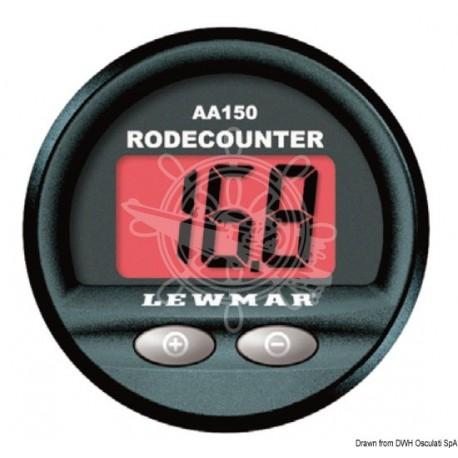 Compteur chaîne LEWMAR AA150 fonctions de base