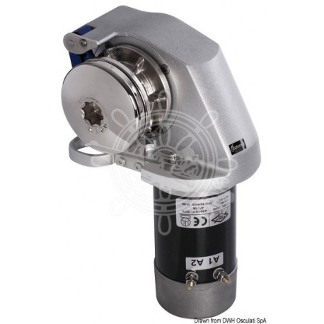 Treuil Italwinch Obi 700 W - 12 V sans cloche barbotin 8 mm