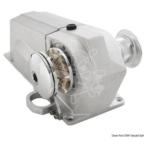 Treuil Italwinch Devon 1500 W - 12 V barbotin 8 mm