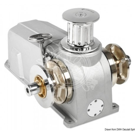 Treuil Italwinch Raja 2700 W - 24 V - 14 mm ISO 2 barbotin, 1 cloche