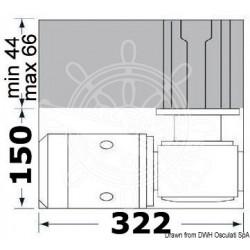 Treuil Lewmar CPX3 haut barbotin 6 mm