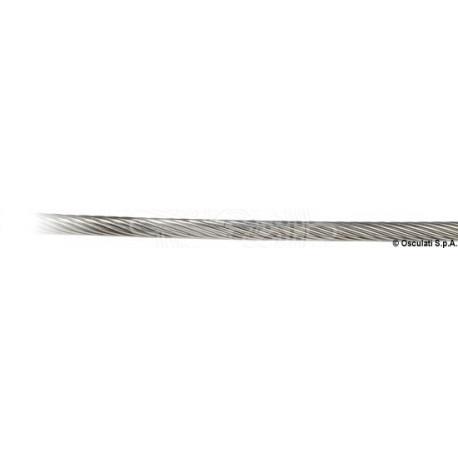 Câble inox AISI 316 19 fils 10 mm