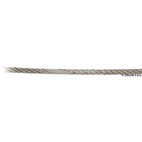Câble inox AISI 316 133 fils 10 mm