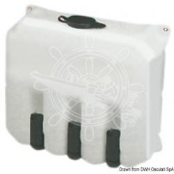 Système lave-vitres 9,7 l 2 pompes 12 V