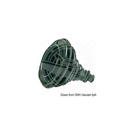 Soufflet passe-câbles en caoutchouc noir