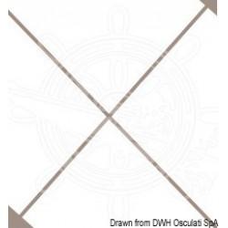 Coupelle inox pour terminal Ø 6/7 mm