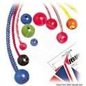 Boule Stopper nylon trou Ø 6 mm bleu