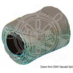 Tresse noire rechange pour fusil de plongée 1,5 mm