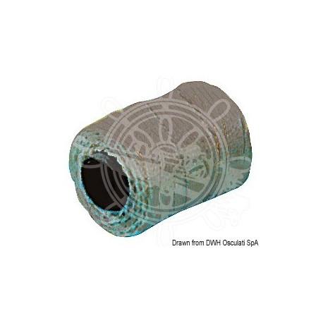 Tresse noire rechange pour fusil de plongée 2,5 mm