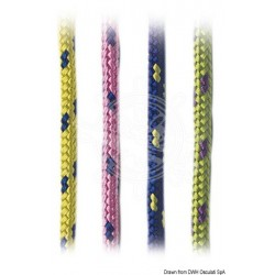 Tresse polypropylène couleurs vives fuchsia 5 mm