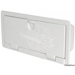 Coqueron ABS blanc poli 540 x 244 x 116 mm