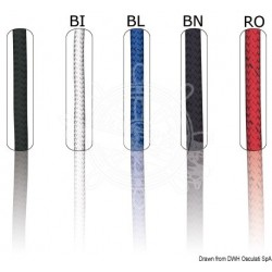 Bout Marlow Marlowbraid rouge 14 mm