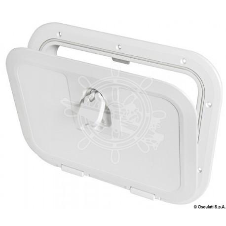 Trappe d'inspection à ras blanc 280 x 380 mm