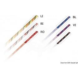 Tresse blanche Marlow Excel Racing 6 mm