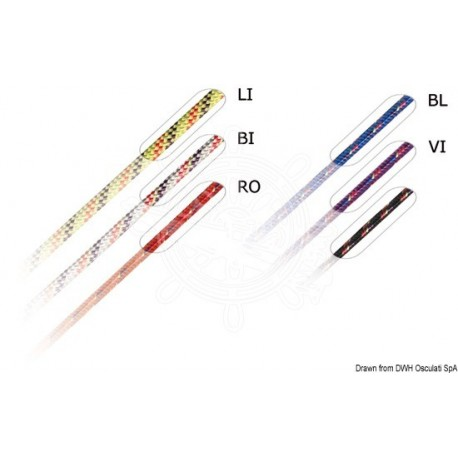 Tresse rouge Marlow Excel Racing 1,5 mm