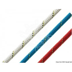 Tresse bleue Marlow D2 Competition 78 10 mm