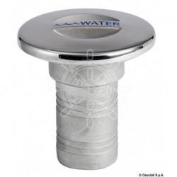Bouchon WATER AISI 316 moulé poli miroir 38 mm
