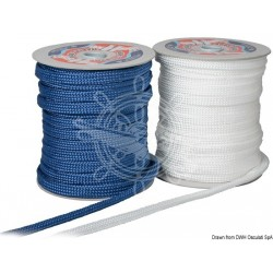 Tresse plate bleue pare-battage 10 mm x 50 m