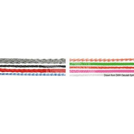 Tresse lévilène noir 6 mm