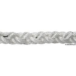 Tresse Square Line blanc 12 mm