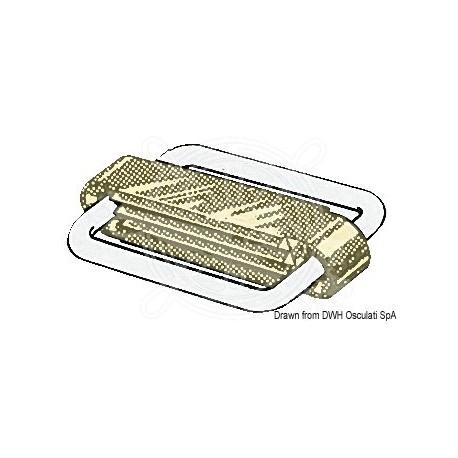 Boucle inox SeaSure fermé 40 mm