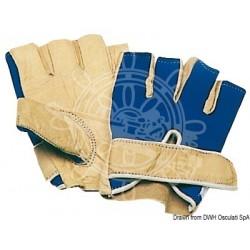 Gants cuir demi-doigts XL