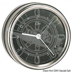 Horloge au quartz Barigo Orion cadran noir