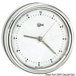 Horloge au quartz Barigo Orion cadran argenté