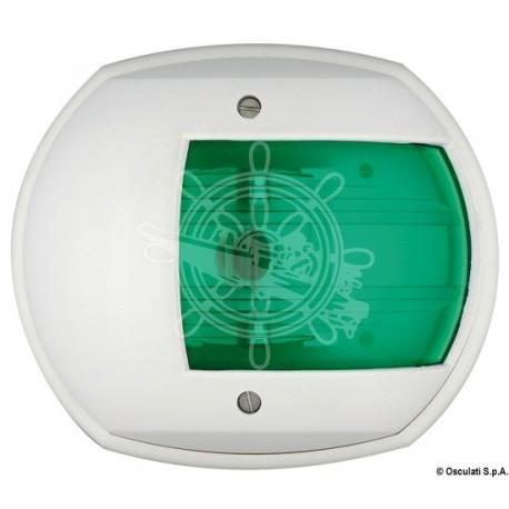 Feu de navigation Maxi 20 blanc 12 V/vert 112,5°