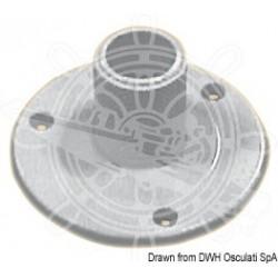 Glomex reinforced nylon base for VHF/GPS antennas