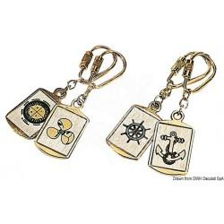 Porte clés lait.br. rose vents