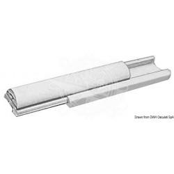 Liston en PVC blanc 30 mm Découpes de 4m