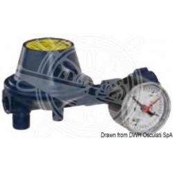 Régulateur pression 30 mb avec manomètre