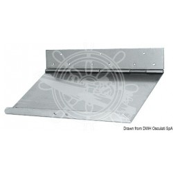 Paire de flaps inox 30x23cm