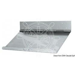 Paire de flaps inox 55x23cm